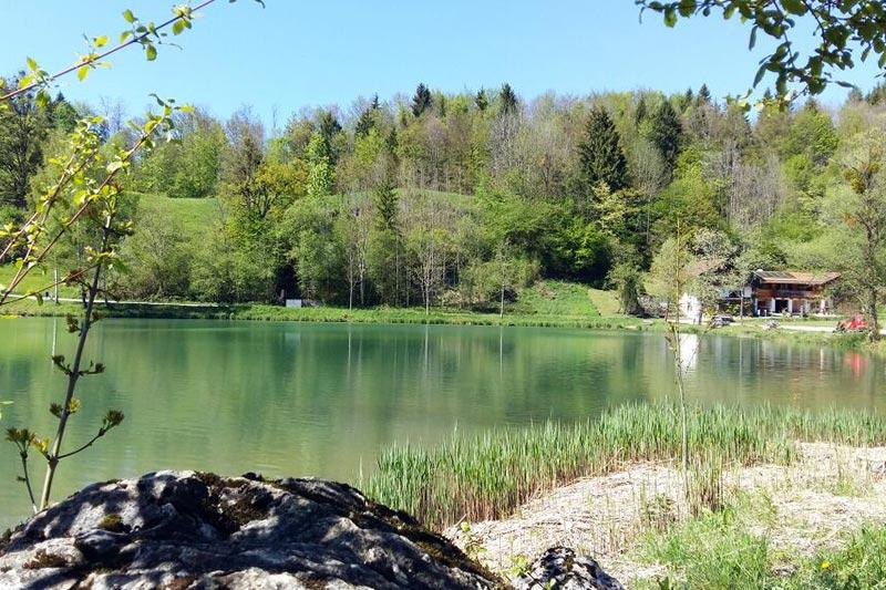 Entspannende Seenlandschaft in direkter Umgebung des landhaus Hochgern im Chiemgau